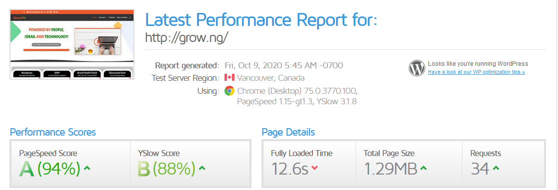 grow - Nigeria Web Agency